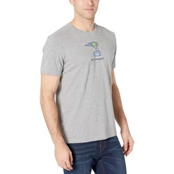 Life İs Good Heather Gray Drill Sergeant Vintage Crusher™ Tee - Thumbnail
