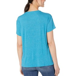Life İs Good Seaport Blue Favorite Slouchy Tee - Thumbnail