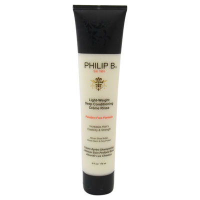 Philip B - Light-Weight Deep Conditioning Creme Rinse (Paraben-Free) 6oz
