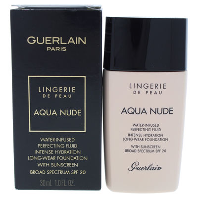 Guerlain - Lingerie de Peau Aqua Nude Foundation SPF 20 - 01N Very Light 1oz