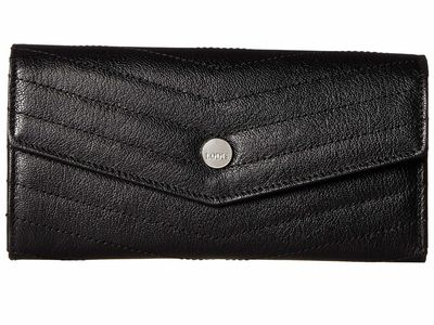 Lodis Accessories - Lodis Accessories Black Carmel Luna Clutch Wallet Clutch Bag