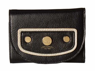 Lodis Accessories - Lodis Accessories Black Mallory French Wallet Tri-Fold Wallet