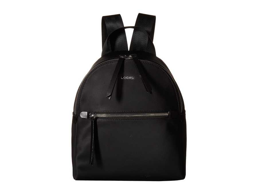 Lodis Accessories Black Nylon Sports Ginnie Small Backpack