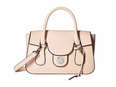 Lodis Accessories - Lodis Accessories Blush Rodeo Kesha Flap Satchel Satchel Handbag