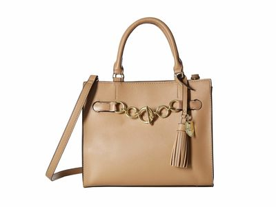 London Fog - London Fog Buff Vivian Satchel Handbag