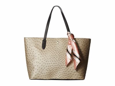 London Fog - London Fog Gold Rose Stafford Tote Handbag