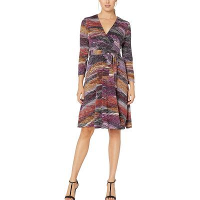 London Times - London Times Plum Wrap Dress