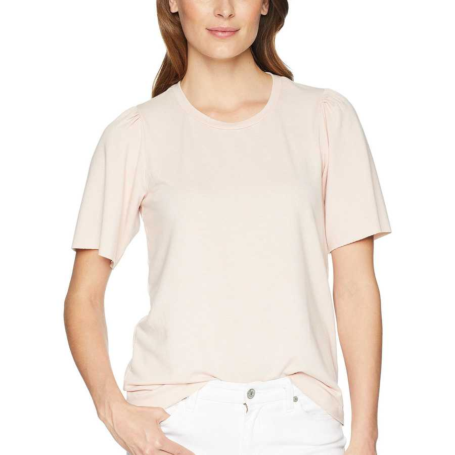 Lucky Brand Blush Puff Sleeve Sweatshirt