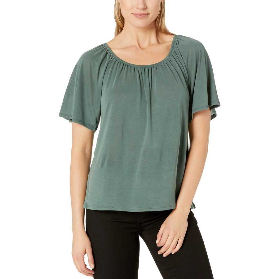 Lucky Brand Forest Sandwash Swing Top
