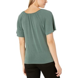 Lucky Brand Forest Sandwash Swing Top - Thumbnail