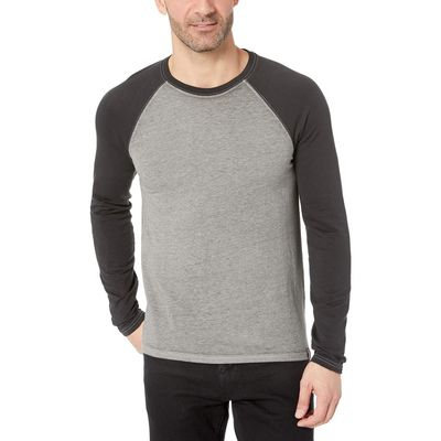 Lucky Brand Gargoyle Color Block Micro Terry Tee