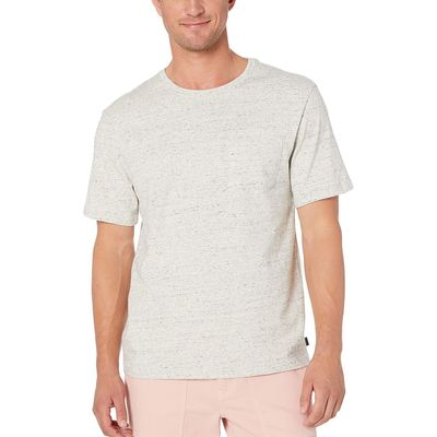 Lucky Brand - Lucky Brand Heather Grey Sunset Pocket Tee