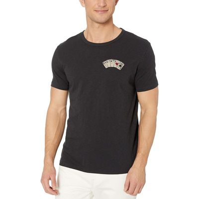 Lucky Brand - Lucky Brand Jet Black Aces Over Eight Tee