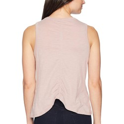 Lucky Brand Keepsake Lilac Embroidered Leaf Tank Top - Thumbnail