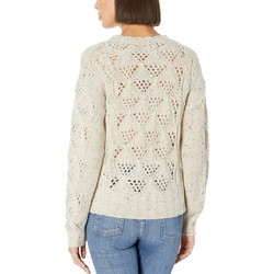Lucky Brand Natural Multi Donegal Pullover Sweater - Thumbnail