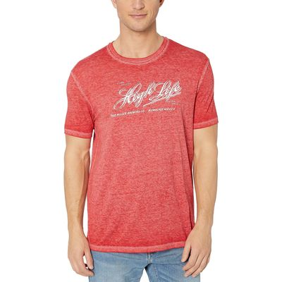 Lucky Brand Pompeian Red Miller High Life Tee