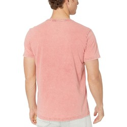 Lucky Brand Red Snap Notch Tee - Thumbnail