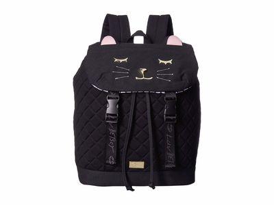 Luv Betsey - Luv Betsey Black Jess Backpack