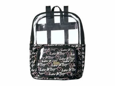 Luv Betsey - Luv Betsey Black Levi Backpack