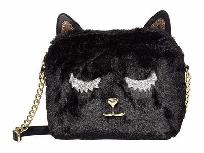 Luv Betsey Black Pixie Cross Body Bag
