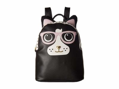 Luv Betsey - Luv Betsey Black/Pink Lana Backpack