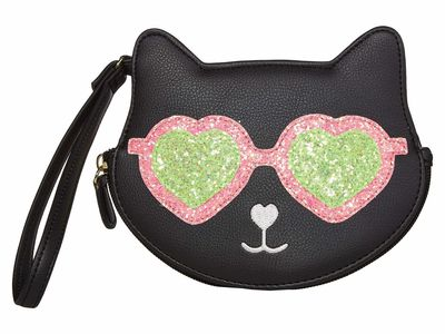Luv Betsey - Luv Betsey Black/White Lbkitz1 Coin Card Case