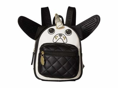 Luv Betsey - Luv Betsey Black/White Pugz Backpack