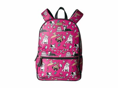 Luv Betsey - Luv Betsey Bright Fuchsia Drew Backpack