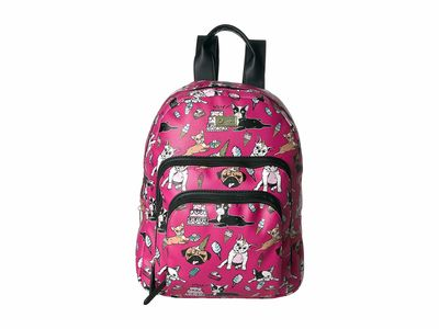 Luv Betsey - Luv Betsey Bright Fuchsia Ryder Backpack
