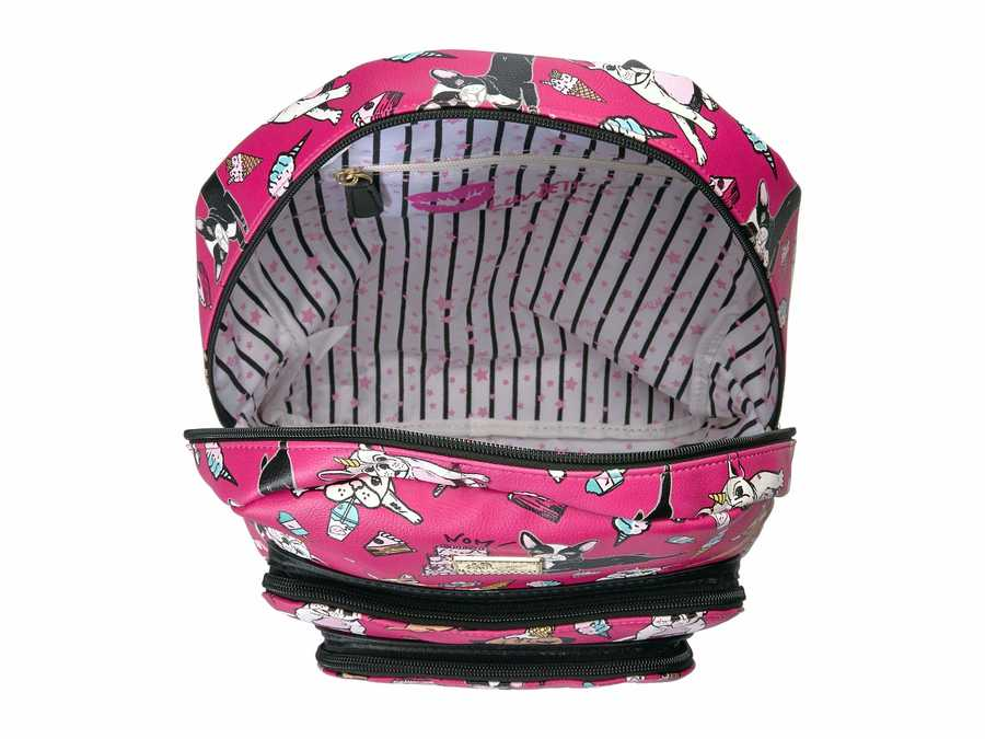 Luv Betsey Bright Fuchsia Ryder Backpack