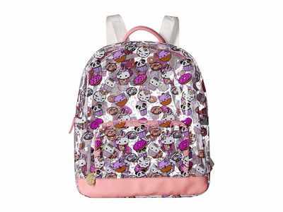 Luv Betsey - Luv Betsey Coral Clear Backpack