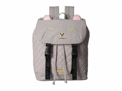 Luv Betsey - Luv Betsey Grey Jess Backpack