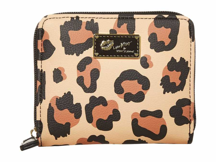 Luv Betsey Leopard Lbzipz1 Coin Card Case