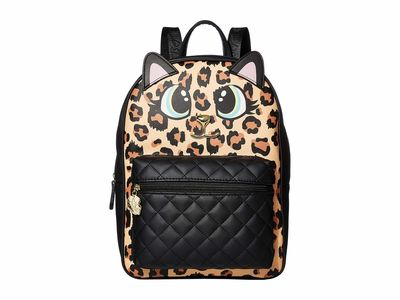 Luv Betsey - Luv Betsey Leopard Maggie Backpack