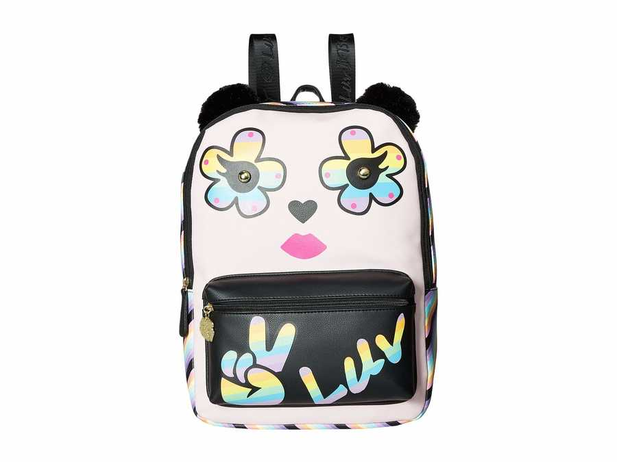 Luv Betsey Light Pink Kate Pvc Kitch Backpack
