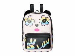 Luv Betsey Light Pink Kate Pvc Kitch Backpack - Thumbnail