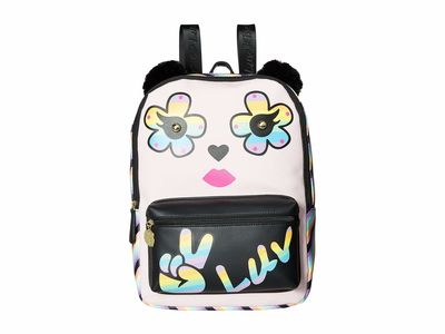 Luv Betsey - Luv Betsey Light Pink Kate Pvc Kitch Backpack