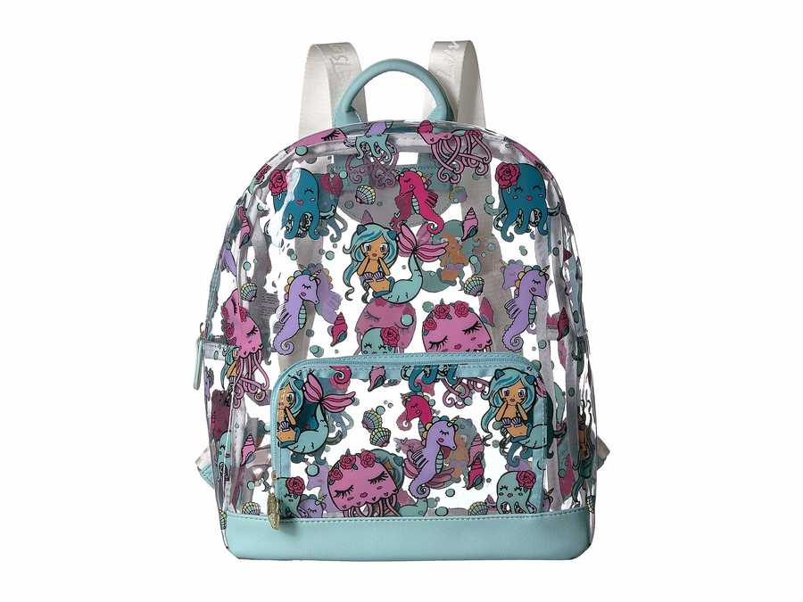 Luv Betsey Mint Clear Backpack