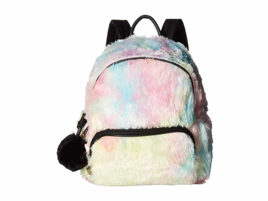 Luv Betsey Multi Emma Plush Backpack