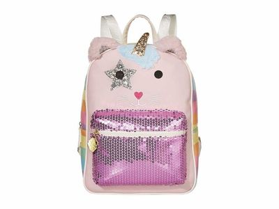 Luv Betsey - Luv Betsey Pink Multi Maggie Backpack