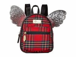 Luv Betsey Red Plaid Jessie Backpack - Thumbnail