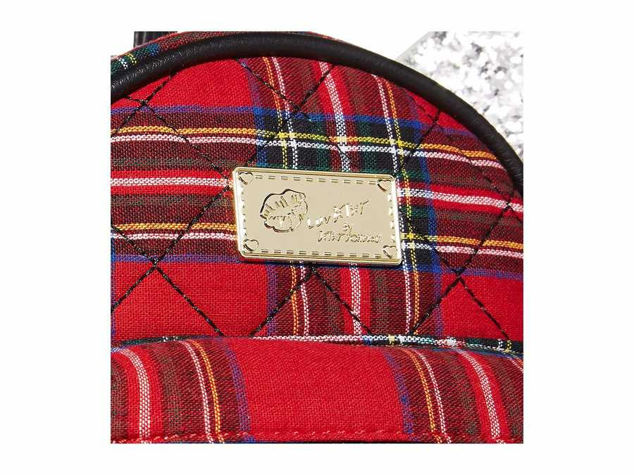 Luv Betsey Red Plaid Jessie Backpack