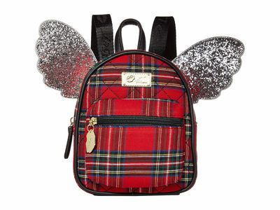 Luv Betsey - Luv Betsey Red Plaid Jessie Backpack