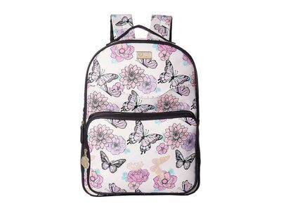Luv Betsey - Luv Betsey Rose/White Austin Backpack