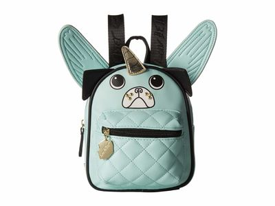 Luv Betsey - Luv Betsey Seafoam Pugz Backpack