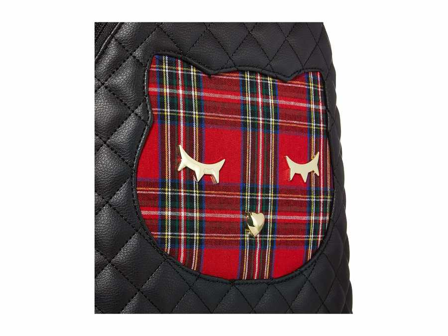 Luv Betsey Stripe Piper Backpack