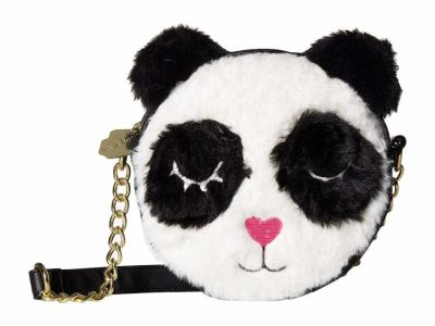 Luv Betsey - Luv Betsey White Ben Kitch Canteen Cross Body Bag