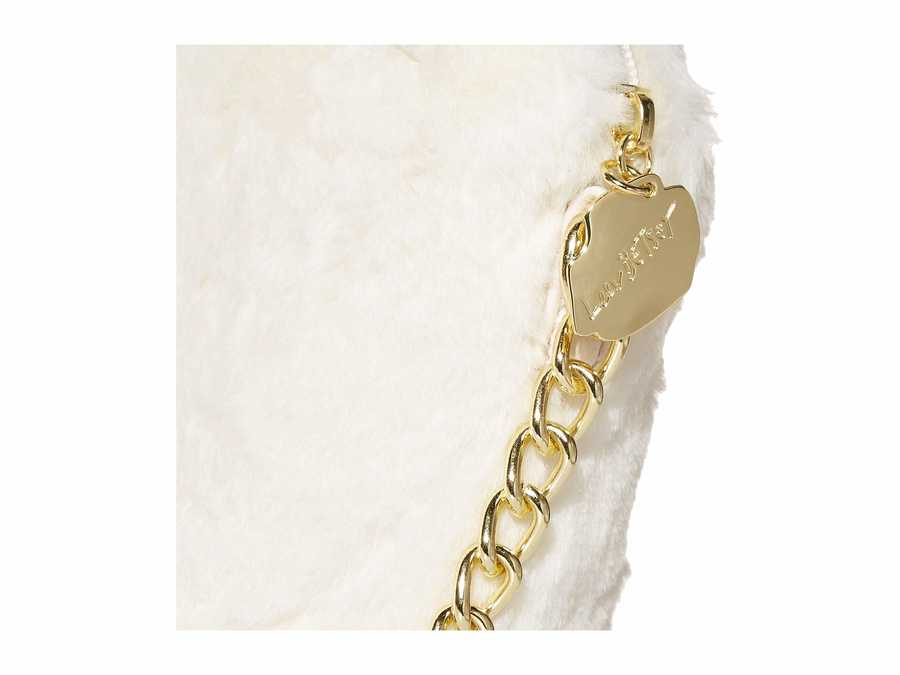 Luv Betsey White Pixie Cross Body Bag