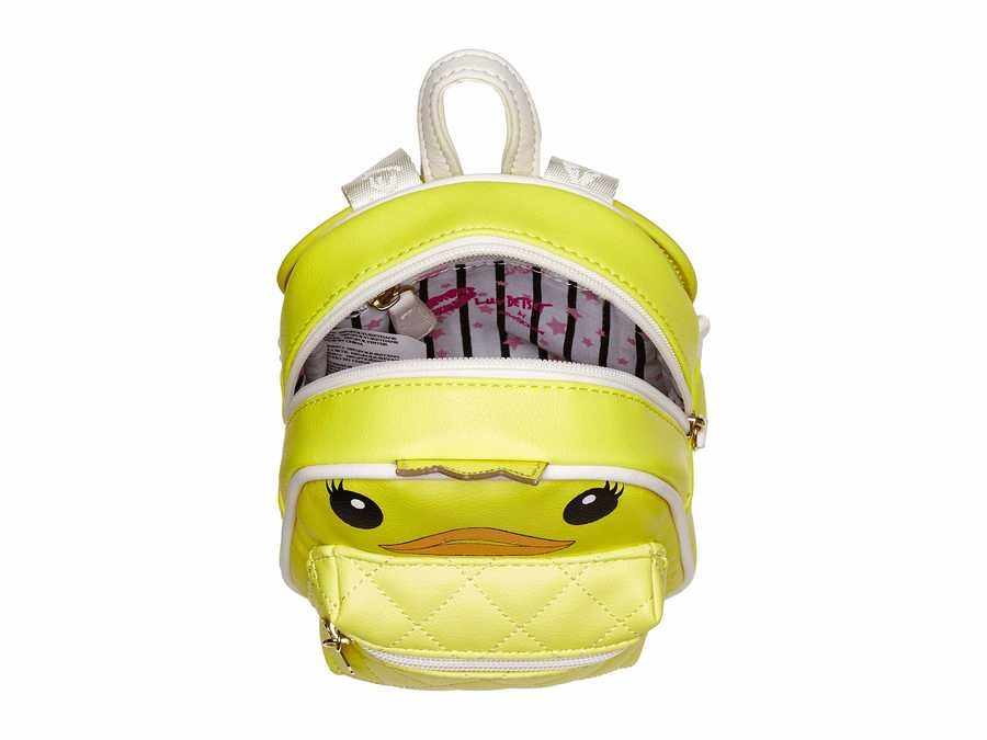 Luv Betsey Yellow Ducky Backpack