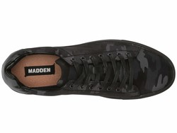 Madden By Steve Madden Men Black Canvas Pilote Lifestyle Sneakers - Thumbnail